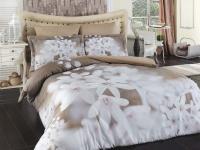 Постельное белье 1,5-спальное Karna Delux сатин Bahar
