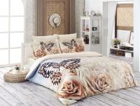 Постельное белье 1,5-спальное Karna Delux сатин Romantic