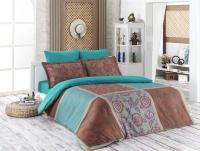 Постельное белье 1,5-спальное Karna Delux сатин Minsu