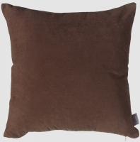 Декоративная наволочка Apolena коллекция Однотон 45x45 Шоколад P02-Z009/1