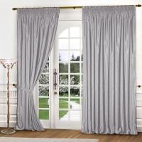 Готовые шторы Реалтекс модель (035) серебро