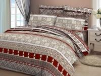 Постельное белье 2-спальное (стандарт) Cleo бязь 2/046-B (с наволочками 70x70)