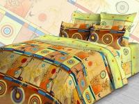Постельное белье 2-спальное (стандарт) Cleo бязь 2/048-B (с наволочками 70x70)