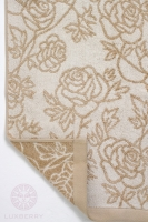 Полотенце Luxberry ROSE beige 50x100