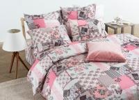 Постельное белье 1,5-спальное Tiffany's Secret сатин Зефирные сны (с наволочками 70х70)