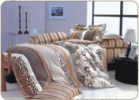 Постельное белье 2-спальное (стандарт) Valtery сатин печатный CL-78