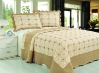 Покрывало Patchwork Silk Place Royalux 230x250 22-008A кофейный