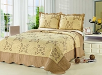 Покрывало Patchwork Silk Place Royalux 230x250 22-015A кофейный