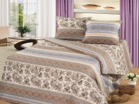 Постельное белье 2-спальное (евро) Cleo бязь 30/347-B (с наволочками 70x70)