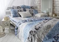Постельное белье 1,5-спальное Tiffany's Secret сатин Небесный эскиз (с наволочками 70х70)