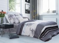 Постельное белье 1,5-спальное Tiffany's Secret сатин Туманный рассвет (с наволочками 70х70)