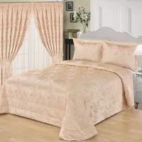 Покрывало с наволочками 2-спальное Sofi de Marko Кастория розовый 240x260