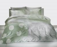 Постельное белье 1,5-спальное TAC Grisel сатин мятный