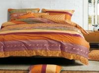 Постельное белье семейное (дуэт) Primavelle мако-сатин дизайн Аккра с простыней на резинке