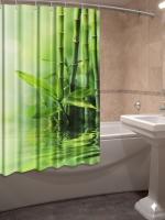 Шторка для ванной Новый стиль Тростник 148x180