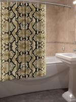 Шторка для ванной Новый стиль Экзотика 148x180