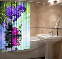 Шторка для ванной Новый стиль Аура 148x180