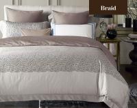 Постельное белье 2-спальное (King size) Sharmes дизайн Braid