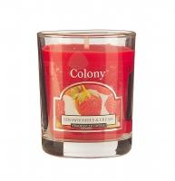 Аромосвеча лампадная Wax Lyrical коллекция Colony Сочная клубника стекло
