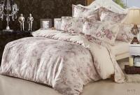 Постельное белье 2-спальное (евро) Sailid сатин с вышивкой D-173
