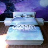 Постельное белье 2-спальное (евро) Newtone сатин Dream (4 наволочки)