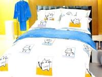 Постельное белье 2-спальное (евро) Kingsilk сатин Druzya (с наволочками 50x70)