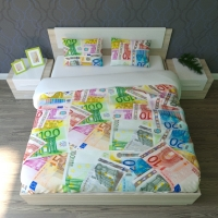 Постельное белье 2-спальное (евро) Newtone сатин EURO (с наволочками 50x70)