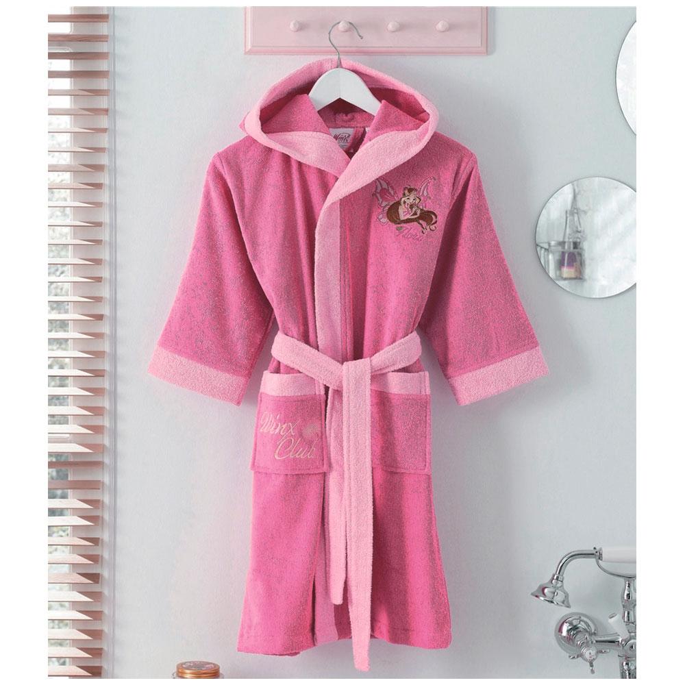 Махровый халат для девочки 10