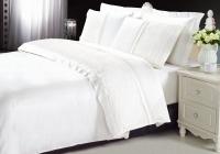 Постельное белье 2-спальное (стандарт) Kingsilk люкс-cатин с кружевом LS 019Б