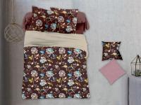 Постельное белье 2-спальное (стандарт) Cleo микросатин PL-032 (с наволочками 70х70)