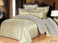 Постельное белье 2-спальное (стандарт) Silk Place Amarenta сатин-жаккард SP-19B (4 наволочки)