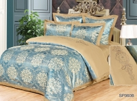 Постельное белье 2-спальное (стандарт) Silk Place Gortades сатин-жаккард SP-60B