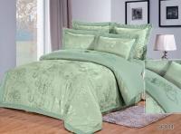 Постельное белье 2-спальное (евро) Silk Place сатин-жаккард SP-84 (4 наволочки)