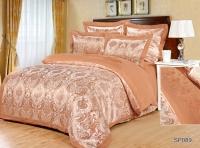 Постельное белье 2-спальное (стандарт) Silk Place Romierro сатин-жаккард SP-89t (4 наволочки)
