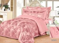 Постельное белье 2-спальное (стандарт) Silk Place Lamenzo жаккард SP099