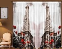 Фототюль Новый стиль Эйфелева башня