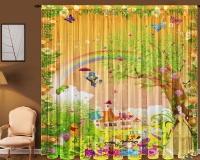 Фототюль для детской Новый стиль Т0370 Сказка 145x270