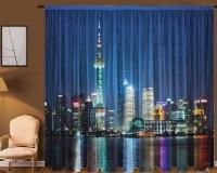 Фототюль Новый стиль Шанхай