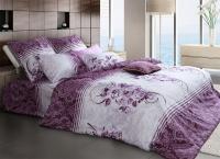 Постельное белье 1,5-спальное Tiffany's Secret сатин Дикая слива (с наволочками 70х70)