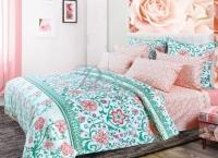 Постельное белье 1,5-спальное Primavelle хлопок дизайн Индори (нав 70х70)