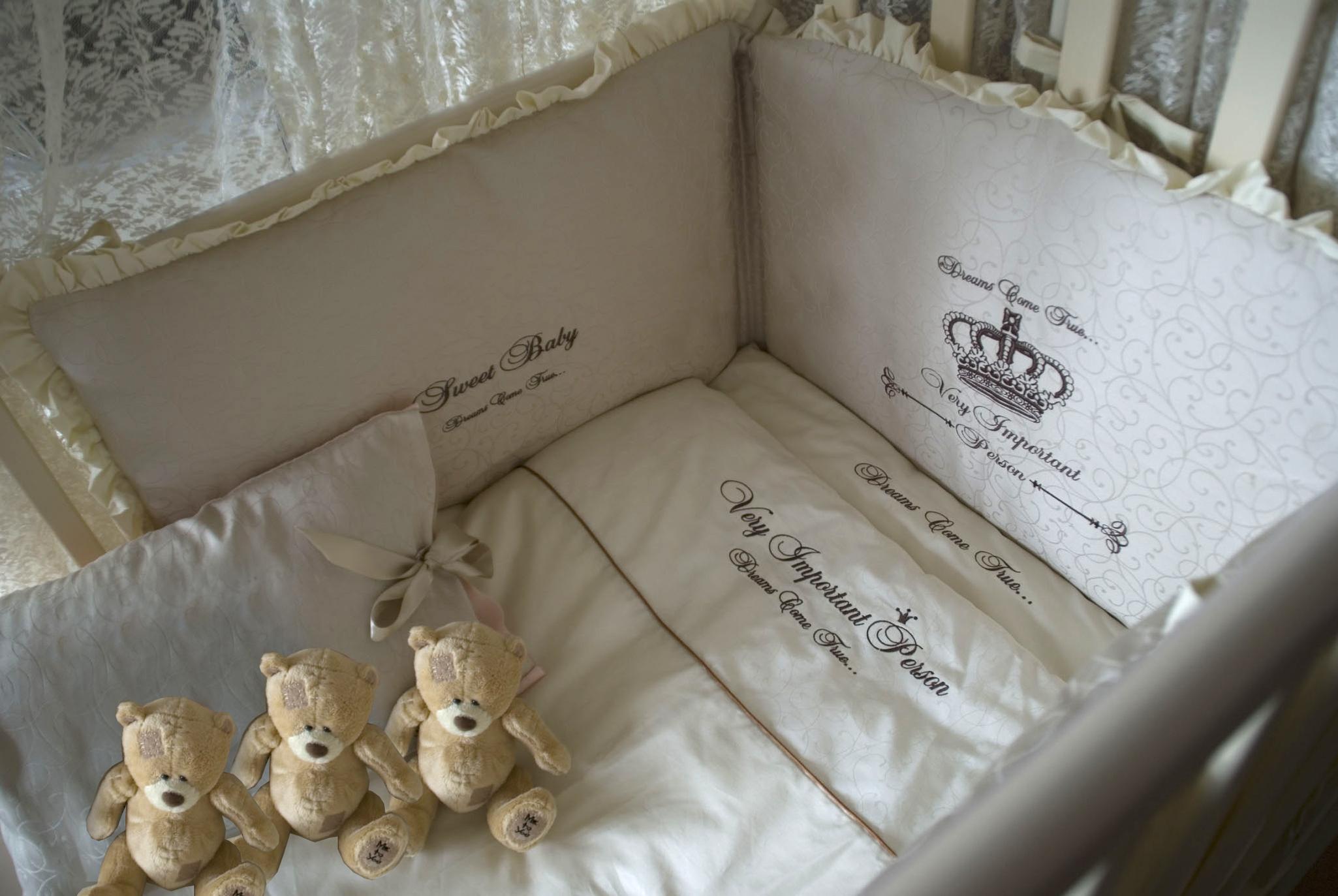 Бортики в кроватку вышивка
