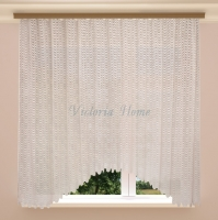 Гардина Victoria Home Milky Waves 180х340
