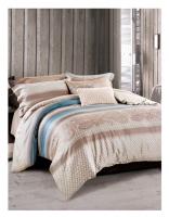 Постельное белье 2-спальное (стандарт) Famille шелковый сатин SDS-62