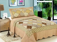Покрывало Patchwork Silk Place Royalux 230x250 21-1002 кремовый