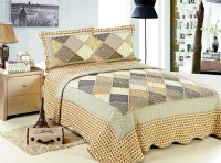 Покрывало Patchwork Silk Place Royalux 230x250 21-1003 кремовый