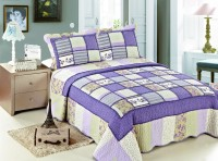 Покрывало Patchwork Silk Place Royalux 230x250 21-1006 сиреневый