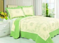 Покрывало Patchwork Silk Place Royalux 230x250 22-002C салатовый