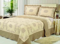 Покрывало Patchwork Silk Place Royalux 230x250 22-007A кофейный