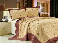 Покрывало Patchwork Silk Place Royalux 230x250 22-013A кремовый