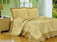 Покрывало Patchwork Silk Place Royalux 230x250 22-011A оливковый